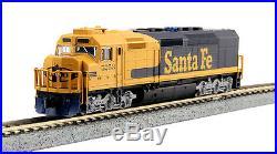 Kato 1769212LS, N Scale EMD SDP40F Type IVa ATSF #5253 Locomotive with DCC & Sound