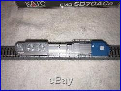 Kato 176-8411 N Scale SD70ACe George Bush #4141 DCC Sound Equiped