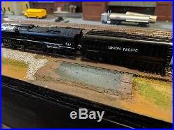 Kato N Scale Union Pacific FEF-3 #844 with DCC/Sound Custom Installed NICE