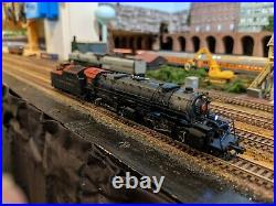 LifeLike Custom PRR #375 2-8-8-2 Chesapeake Class HH1s with ESU Sound/DCC