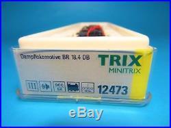 MINITRIX 12473 digital/Sound (TRIX-DCC) BR18 473 DB Dampflok