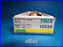 MINITRIX 12539 digital/Sound (TRIX-DCC) E103 109-5 E-Lok