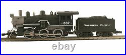 MODEL POWER 876061 N SCALE Northern Pacific 2-6-0 Mogul STEAM W DCC SOUND