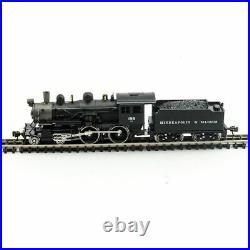 MODEL POWER 876281 N Scale M&StL 4-4-0 American w DCC SOUND NEW