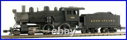 MODEL POWER 876371 N SCALE Long Island 4-4-0 American w DCC SOUND NEW