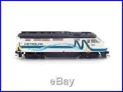 Metrolink F59PHI Locomotive #877 with Sound & DCC N Athearn #ATH06790