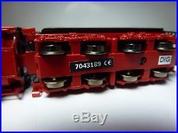 Minitrix 12449 Schlepptender-Dampflok BR 44 der DB digital DCC/SX Sound TOP! OVP