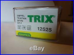 Minitrix N 12525 BR 232 Dieselloks Doppeltraktion digital DCC/SX Sound TOP OVP
