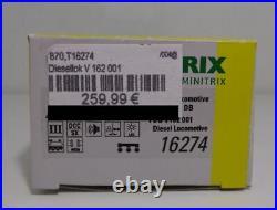 Minitrix N 16274 Diesellok BR V162 DB Ep. III DCC Sound NEU & OVP