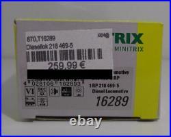 Minitrix N 16289 Diesellok BR 218 RP Ep. VI DCC Sound NEU & OVP