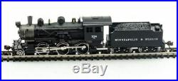 Model Power 876051, N Scale, M&STL 2-6-0 Mogul with Sound & DCC