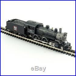 Model Power 876241, N Scale, 4-4-0 American withSound & DCC, CB&Q Burlington Route