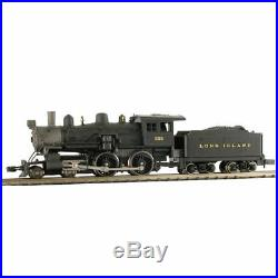 Model Power 876371, N Scale 4-4-0 American with Sound & DCC, Long Island LIRR