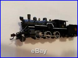 Model Power New N Scale Canadian National Steam 2-6-0 Mogul DCC & Sound 876131