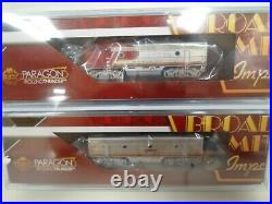 NEW Broadway Limited N gauge EMD F3 A/B ATSF 31L/31A DCC/DC WithSOUND