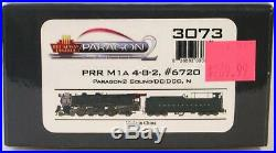 NEW N Scale Broadway Limited Paragon2 Sound/DC/DCC PRR M1A 4-8-2 Locomotive