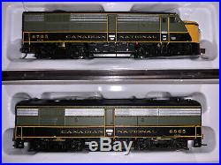 NEW N Scale CN Locomotive Rapido Set DCC withsound FPA-4 & FPB-4 MLW NO RESERVE