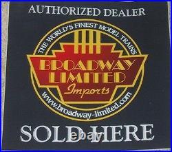 N Broadway Ltd 3618 CB&Q/California Zephyr E9A DCC & Sound #9985 NIB