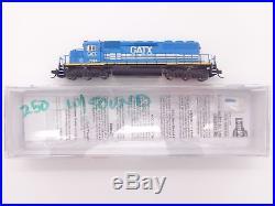 N GATX SD40-2 Locomotive #7374 with DCC & Sound InterMountain #69323S-04 vmf121