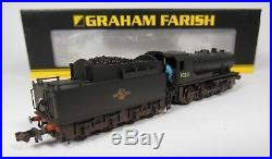 N Gauge Farish 372-427 DCC SOUND WD Austerity Class 90201 BR Black Weathered