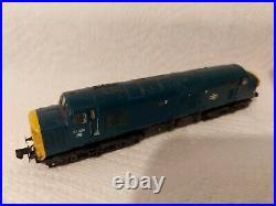 N Gauge Farish Class 37 No. 37038 in BR Blue livery. DCC SOUND