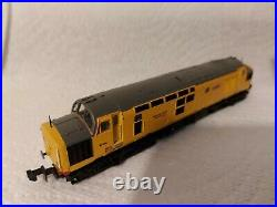 N Gauge Farish Class 37 No. 97304 in Network Rail livery. DCC SOUND