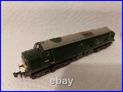 N Gauge Farish Class 37 No. D6827 in BR Green weathered livery. DCC SOUND