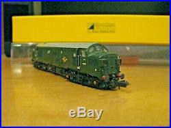 N Gauge Superb Graham Farish Class 37 With CR Signals DCC Sound & LIghts Boxed
