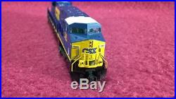N Kato 176-8914 Dcc/sound Csx Es44ac Diesel Locomotive #737 Vg/orig Box