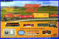 N SCALE Complete Train Set Bachmann Roaring Rails DCC & Sound Equipped 24132