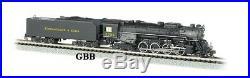 N Scale 2-8-4 Chesapeake & Ohio (C&O) Locomotive DCC & SOUND Bachmann New 50953