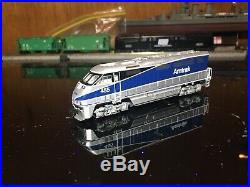 N Scale Athearn F59PHI With DCC And Sound And 4 Car Kato Superliner Phase 4b Set