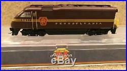 N Scale Athearn F59ph Pennsylvania (prr) #9891 DCC & Sound New