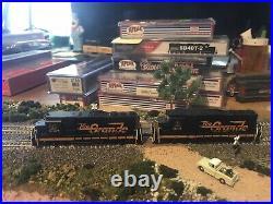 N Scale Atlas Gold (pair) 2 Gp30 Rio Grande Locomotives Dcc/sound #3027&3001