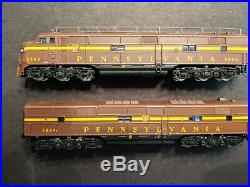 N Scale BLI Pennsylvania RR E7 A+B, Sound/DCC both Powered L00K