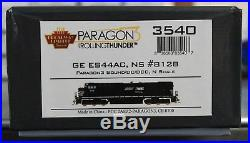 N Scale BROADWAY LIMITED 3540 NORFOLK SOUTHERN ES44AC # 8128 DCC & P3RT SOUND