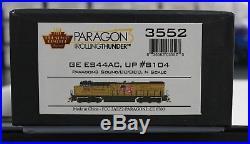 N Scale BROADWAY LIMITED 3552 UNION PACIFIC ES44AC # 8104 DCC & PAR3 RT SOUND