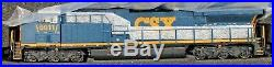 N Scale BROADWAY LIMITED 3747 CSX GE AC6000 # 5011 DC, DCC & Paragon 3 Sound
