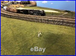 N Scale Bachmann 2-8-4 Berkshire Steam Loco Nickel Plate #765 with DCC&Sound