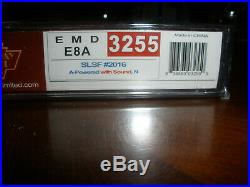 N Scale Broadway LImited Frisco E8A Sound equipped DCC NIB Paragon2