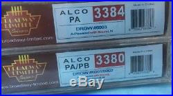 N Scale Broadway Limited Imports DRGW PA/PB Dcc Sound ABA Set Rio Grande