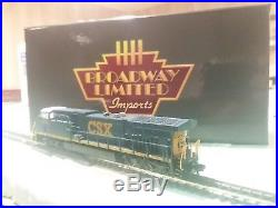N Scale Brodway Limited CSX AC6000 #623 DCC/Sound