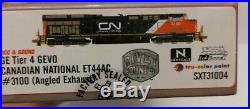 N Scale CN Canadian National Scaletrains River Counter ET44 DCC & Sound #3100