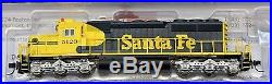 N Scale INTERMOUNTAIN 69340S-04 SANTA FE SD40-2 locomotive # 5120 DCC & SOUND