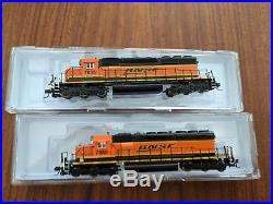 N Scale Intermountain BNSF New Image SD40-2 withDCC Sound L00K