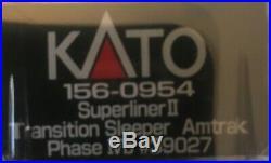 N Scale Kato Dcc Sound P42 Amtrak Phase Vb Superliner II Passenger Cars Lot