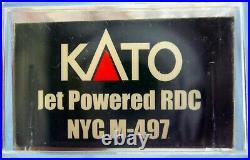 N Scale Kato Kobo Custom Exclusive Jet Powered Rdc Nyc M497 DCC & Sound
