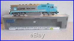 N Scale Kato SDP40F Maersk Locmotive with Factory DCC & Sound