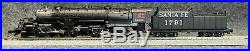 N Scale Life Like Heritage Collection AT&SF 2-8-8-2 #1791 withESU DCC & Sound
