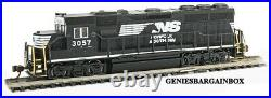N Scale NORFOLK SOUTHERN DCC & SOUND EQUIPPED GP40 Locomotive BACHMANN New 66355